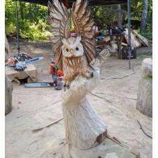 """Фигура из дерева """"Крылья"""""""