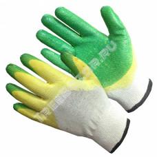 Перчатки с 2 слойным латексным покрытием (1 пара)