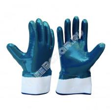 Перчатка с полным нитриловым покрытием (манжета-крага)