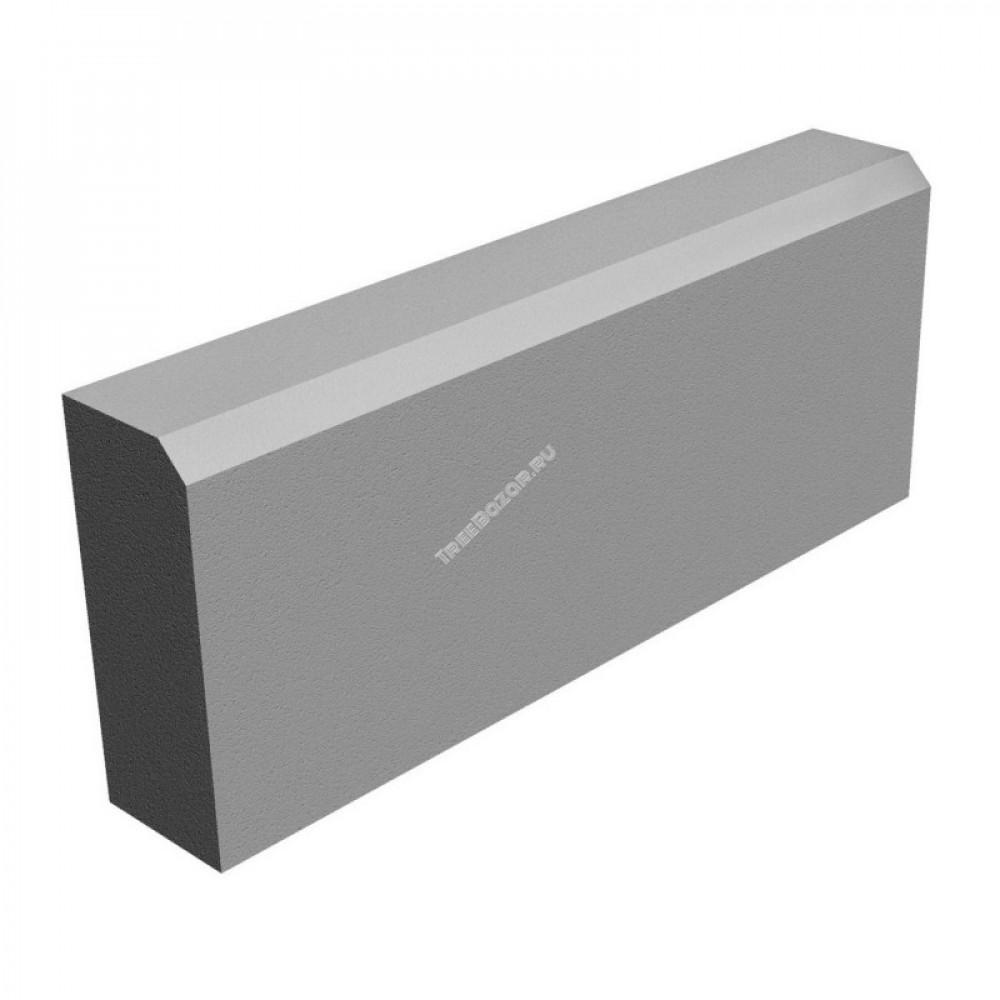 Бордюр серый 200*80*1000