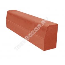 Бордюр красный 200*80*500